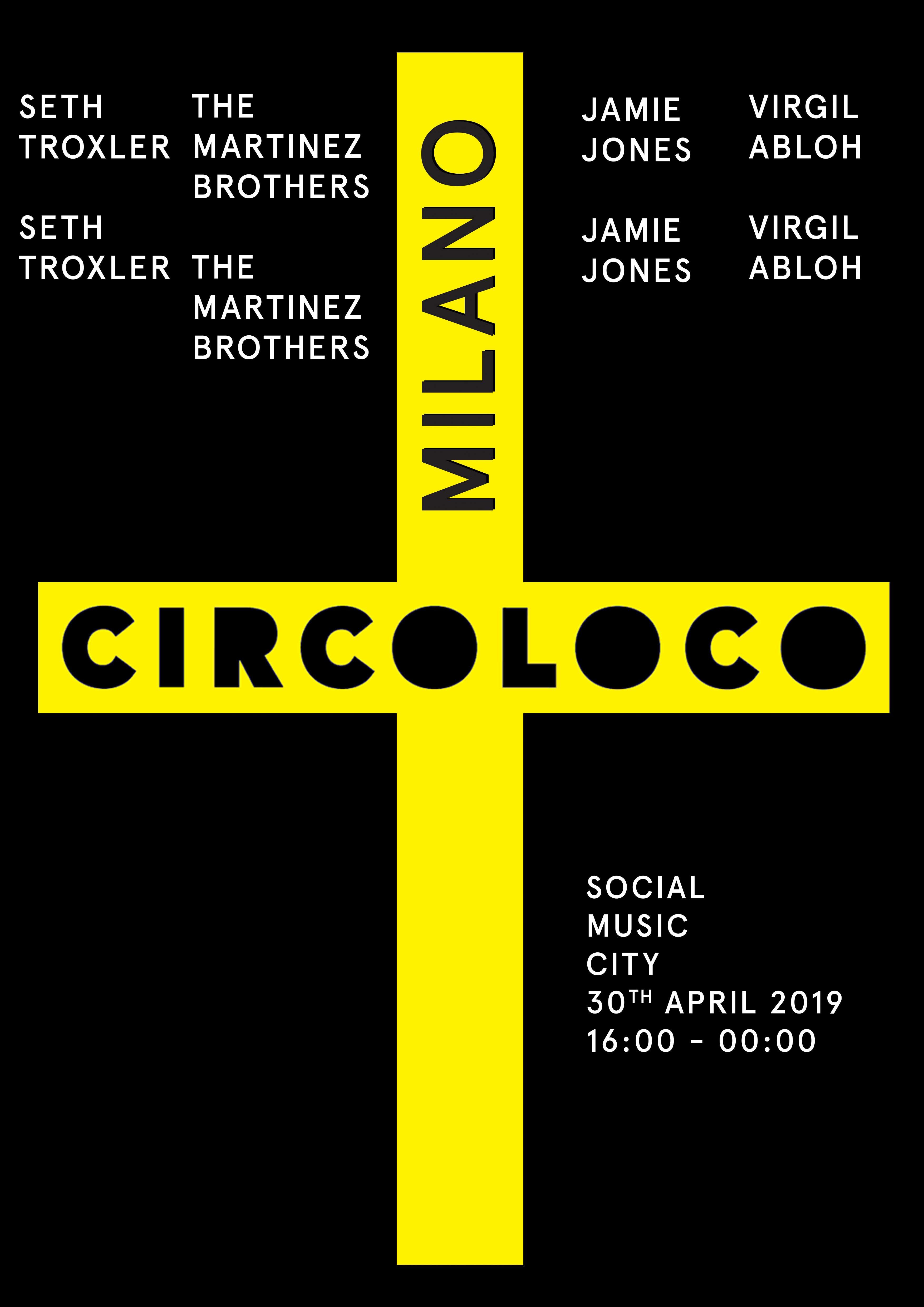 Circoloco Milan 2019 at Social Music City