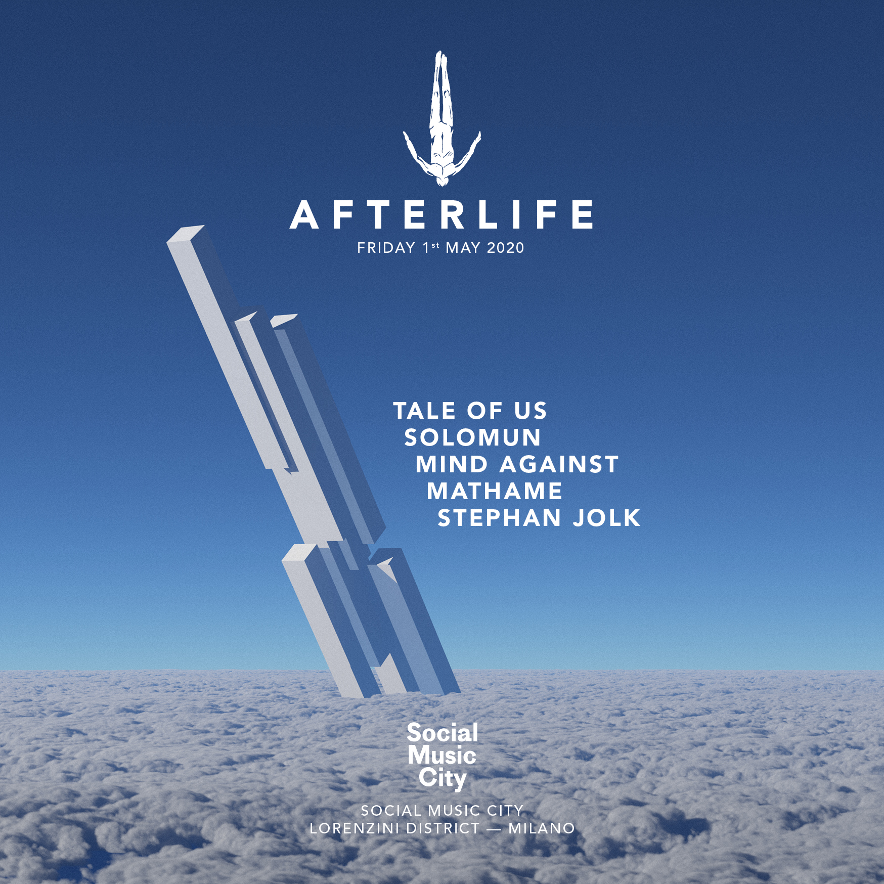 Afterlife Milan at SMC 2020 (POSTPONED)   Social Music City